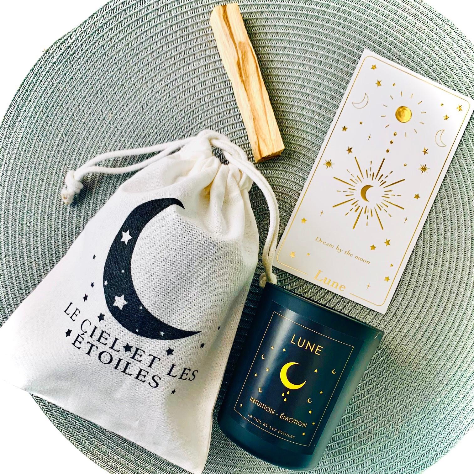 Bougie LUNE (édition limitée) Pour votre rituel Pleine Lune